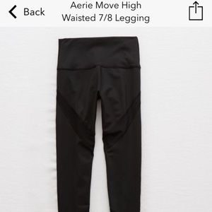 Aerie Move High Waisted 7/8 Leggings
